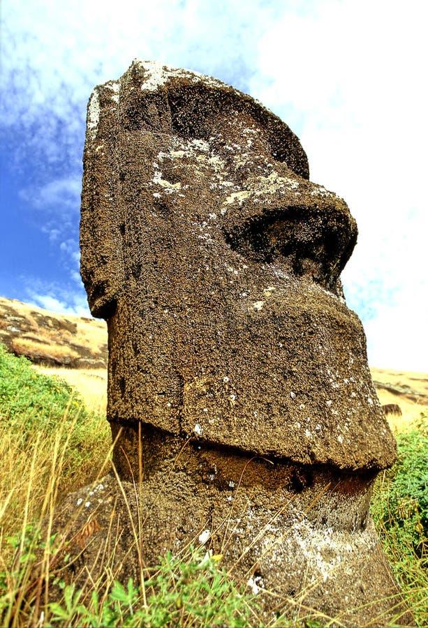 Isla de Moai- pascua foto de archivo libre de regalías
