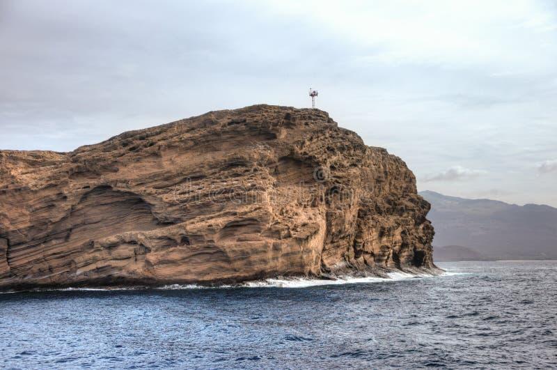 Isla de Molokini fotos de archivo libres de regalías