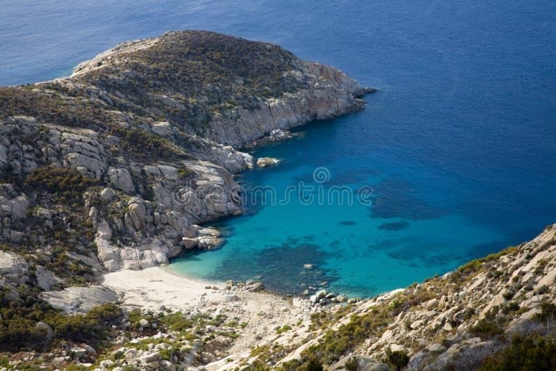 Isla de Montecristo fotos de archivo