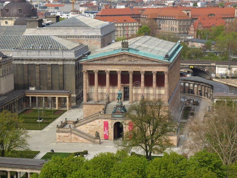 Isla de museos en Berlín fotografía de archivo