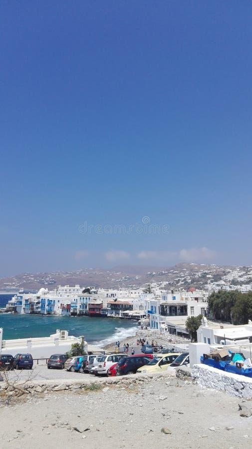 Isla de Mykonos fotografía de archivo