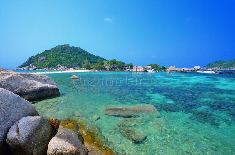 Isla de Nangyuan imagenes de archivo