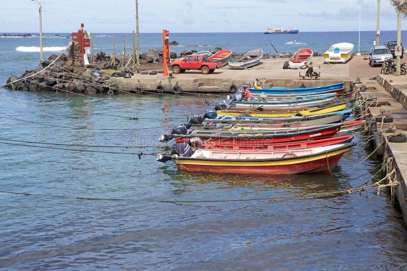 Isla de pascua, Chile imágenes de archivo libres de regalías