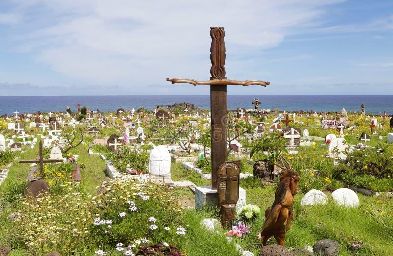 Isla de pascua, Chile fotografía de archivo