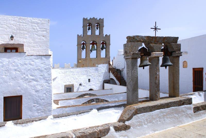 Isla de Patmos, Grecia fotografía de archivo