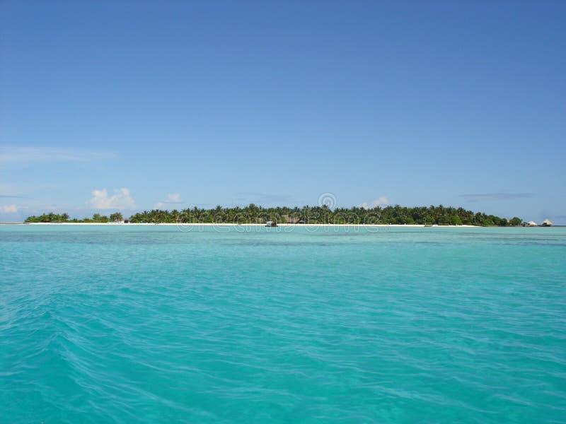 Isla de Rihiveli, los Maldivas fotografía de archivo libre de regalías