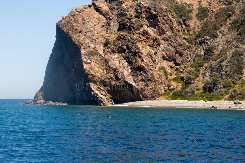 Isla de Santa Catalina fotos de archivo libres de regalías