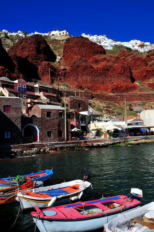 Isla de Santorini, Grecia foto de archivo