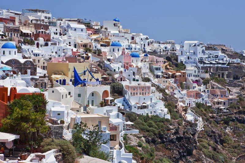 Isla de Santorini, Grecia imagen de archivo libre de regalías