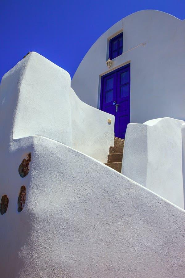 Isla de Santorini, Grecia fotos de archivo