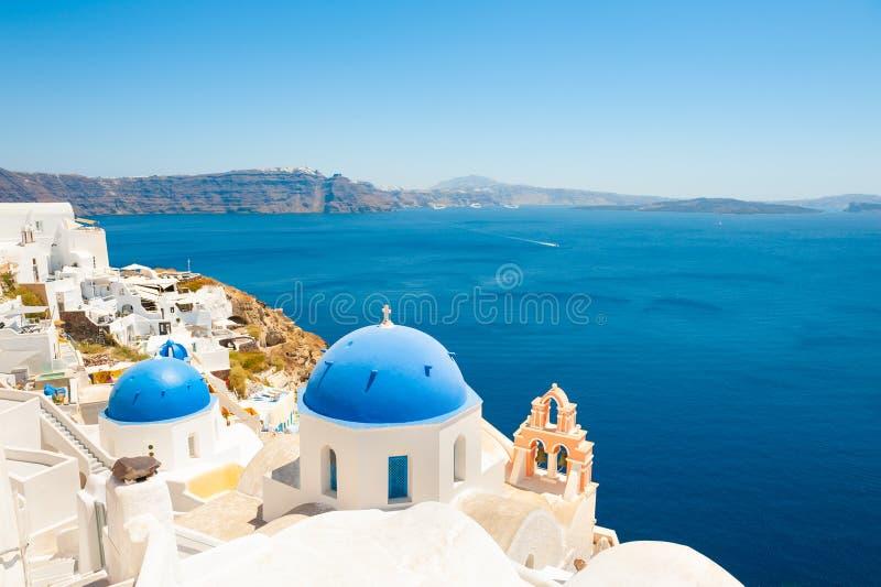 Isla de Santorini, Grecia Destinaci?n famosa del recorrido fotografía de archivo