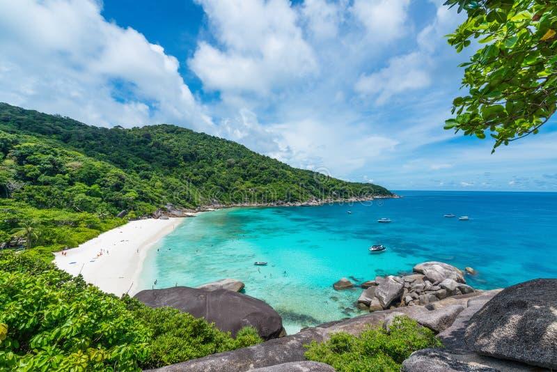 Isla de Similan, mar de Andaman imagenes de archivo