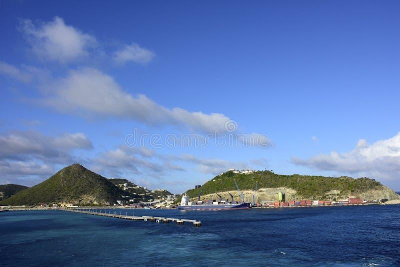 Isla de Sint Maarten imagen de archivo