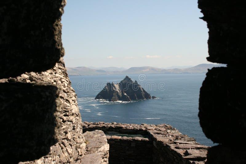 Isla de Skellig en Kerry Irlanda imágenes de archivo libres de regalías