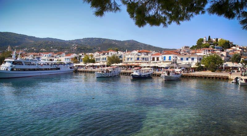 Isla de Skiathos en Grecia fotos de archivo libres de regalías