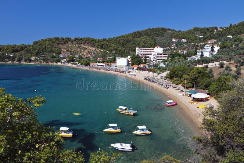 Isla de Skiathos en Grecia fotografía de archivo