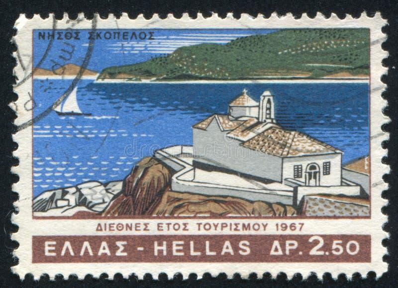 Isla de Skopelos imágenes de archivo libres de regalías