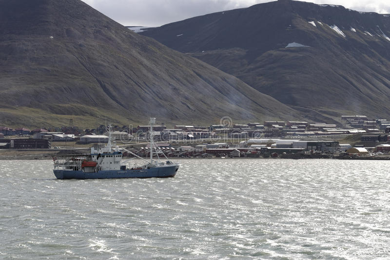 Isla de Spitsbergen imagen de archivo