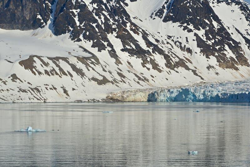 Isla de Spitzbergen Svalbard imagen de archivo libre de regalías