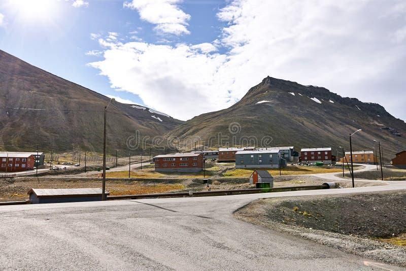 Isla de Svalbard foto de archivo libre de regalías