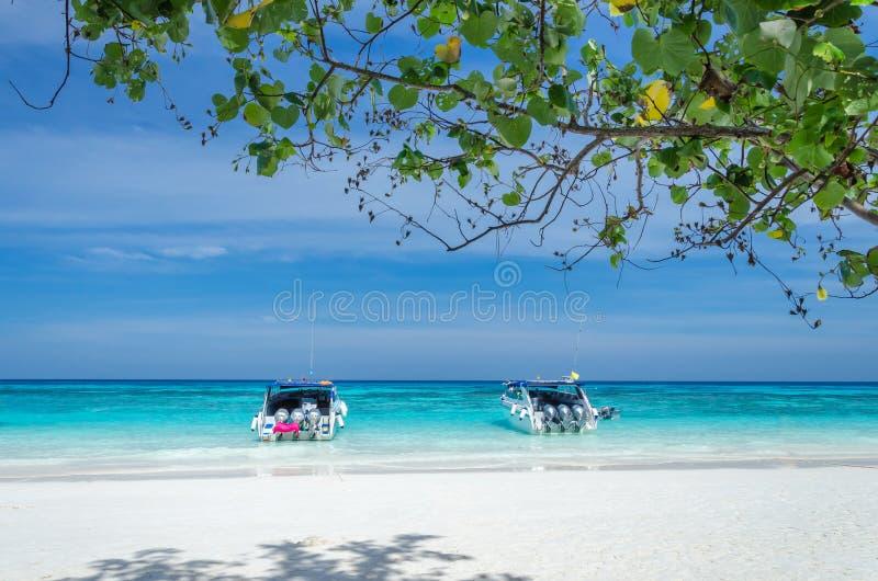 Isla de Tachai fotos de archivo