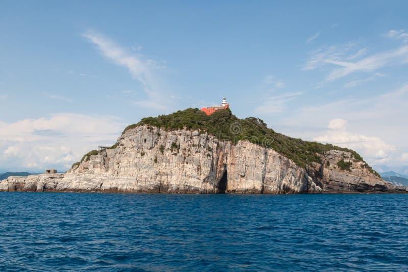 Isla de Tino foto de archivo libre de regalías