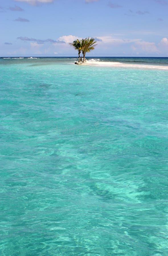 Isla de tres palmas fotos de archivo