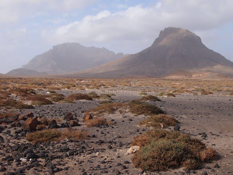 Isla de Vicente del sao, Cabo Verde imagenes de archivo