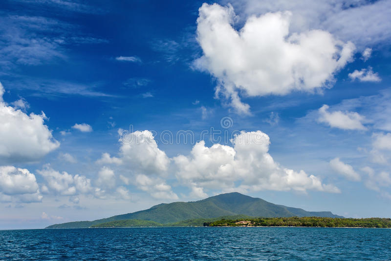 Isla del archipiélago de Karimunjawa, Indonesia fotografía de archivo
