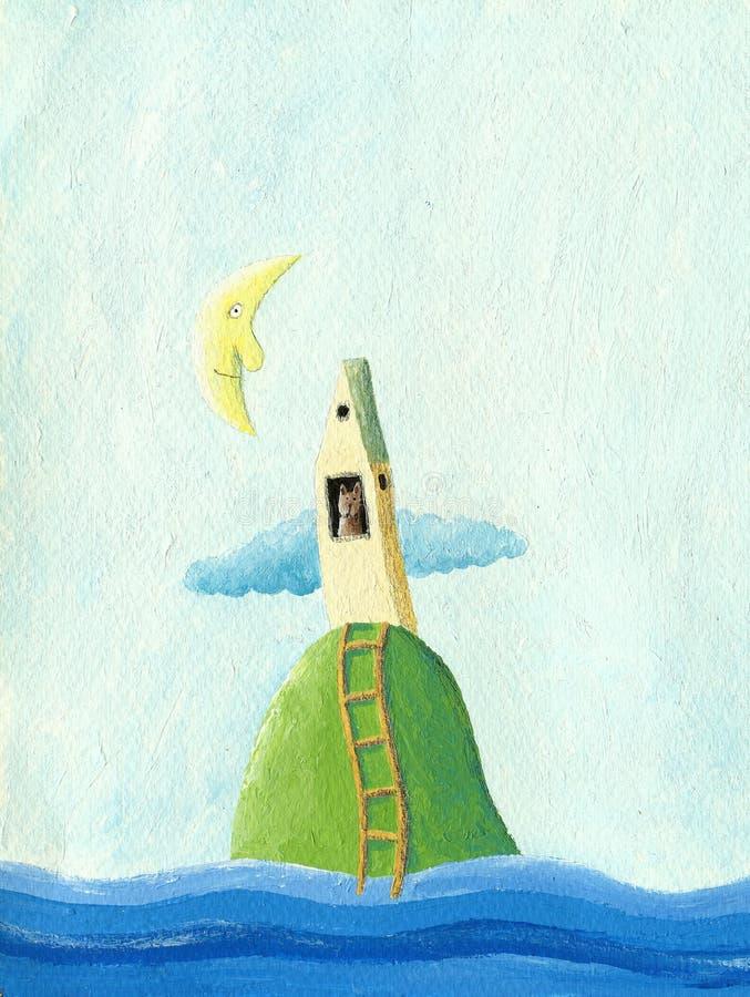 Isla del gato libre illustration