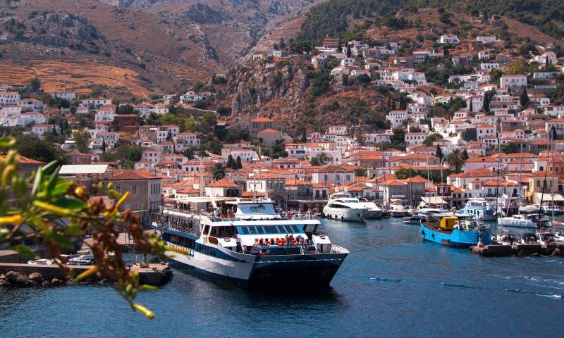 Isla del Hydra, Grecia imagen de archivo libre de regalías