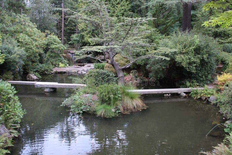 Isla del jardín de Kubota fotografía de archivo