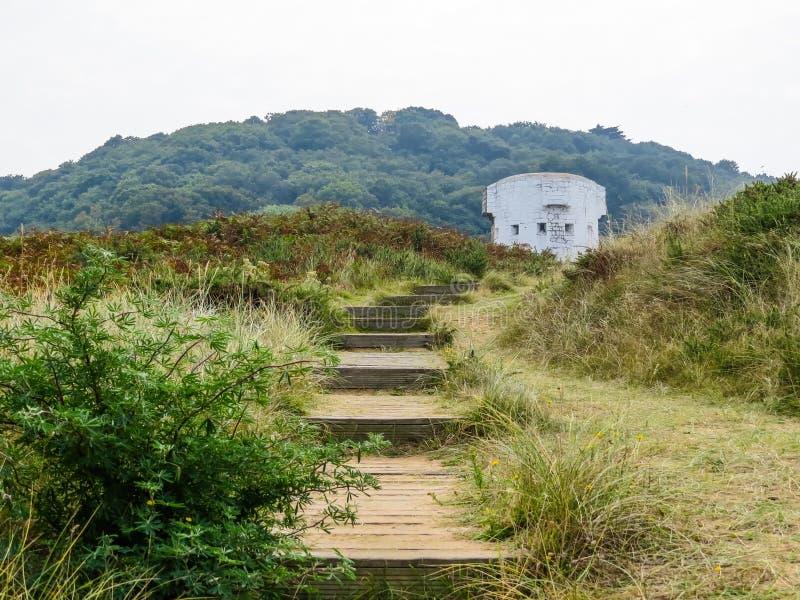 Isla del jersey, Islas del Canal foto de archivo libre de regalías