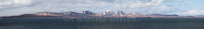 Isla del Jura de Gigha, Escocia imagenes de archivo