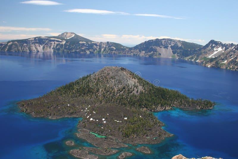 Isla del mago del oeste foto de archivo libre de regalías