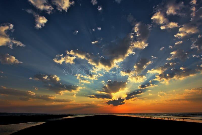 Isla del norte de Seabrook de la playa foto de archivo libre de regalías