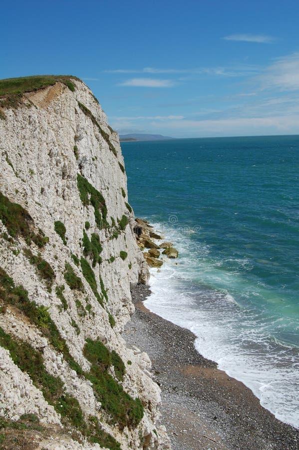 Isla del paisaje marino del Wight imagen de archivo