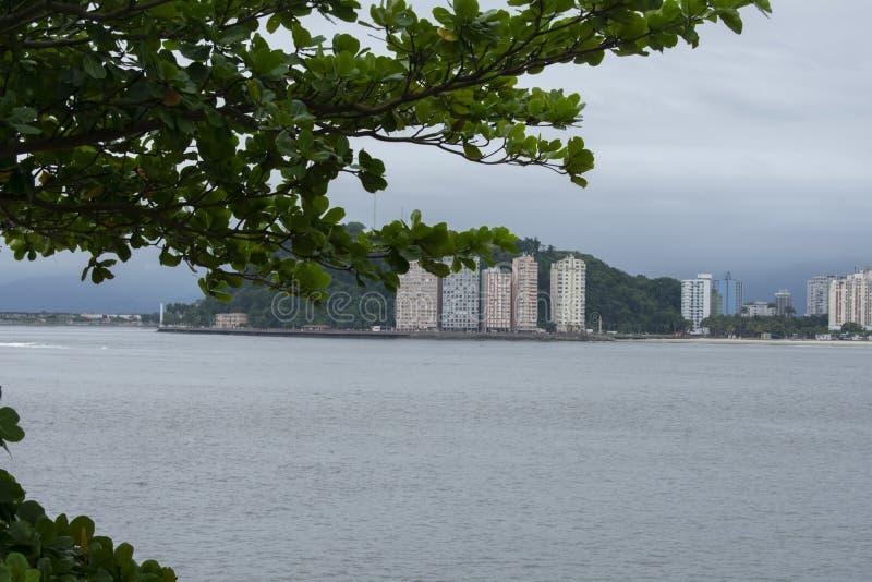 isla del pochatt en el estado de Sao Paulo el Brasil imágenes de archivo libres de regalías