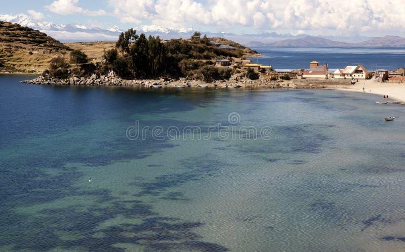 Isla del sol, Bolivia fotografia stock libera da diritti