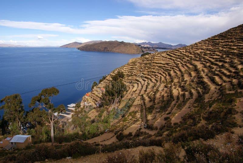 Isla del solenóide, Bolívia imagens de stock