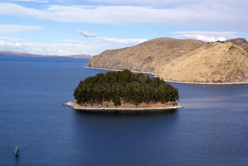 Isla del solenóide, Bolívia fotografia de stock royalty free