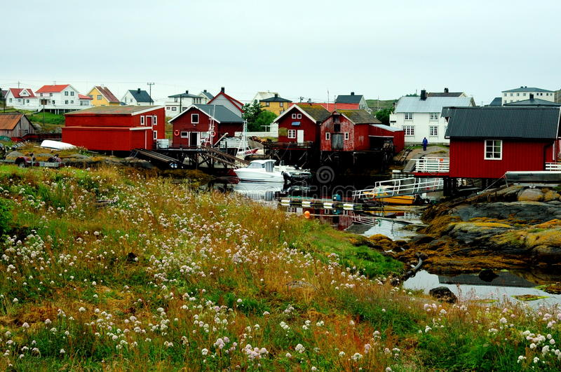 Isla del Sula, Noruega fotografía de archivo