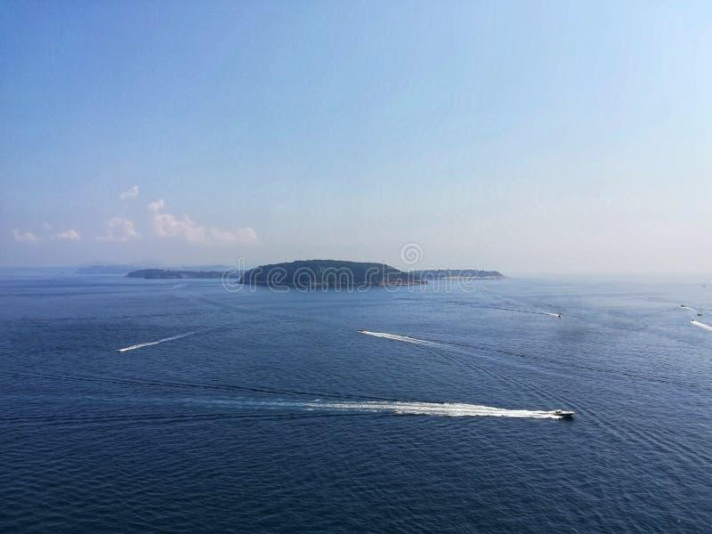 Isla del vivara foto de archivo libre de regalías