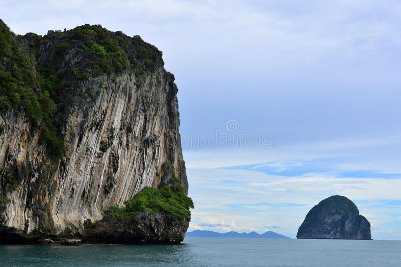Isla en el trang Tailandia foto de archivo libre de regalías