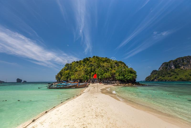 Isla en Thailan imagen de archivo