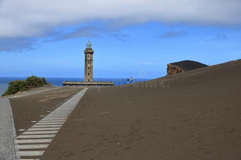Isla Faial bonita nos Açores Portugal fotografia de stock