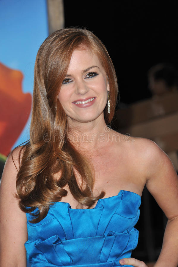 Isla Fisher image stock