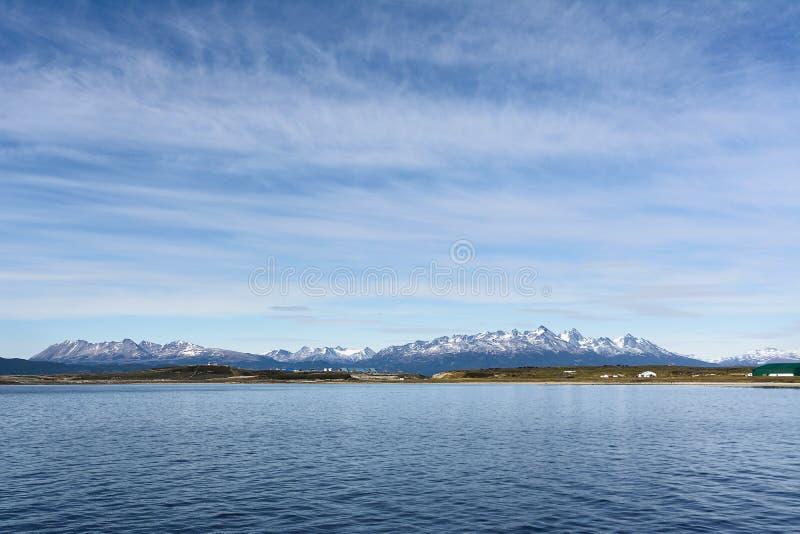 Isla gordon som beskådas från beaglechanel arkivfoton