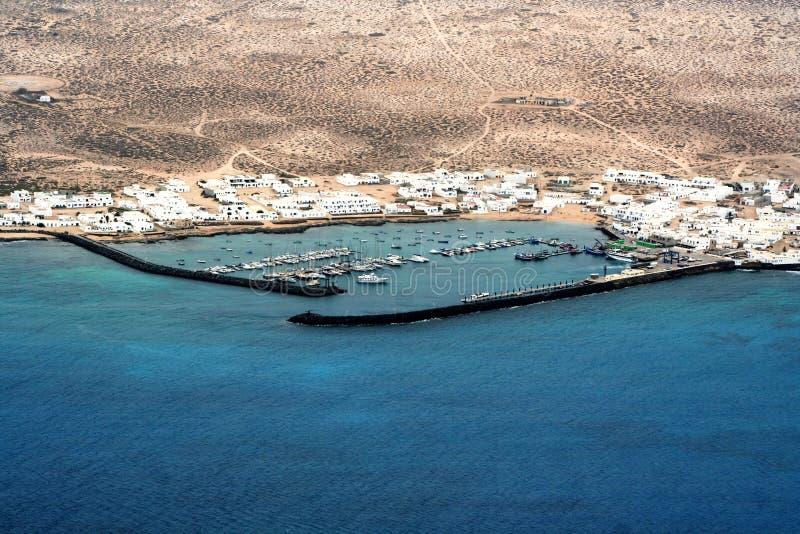 Download Isla graciosa, Lanzarote stock photo. Image of boats - 10691034