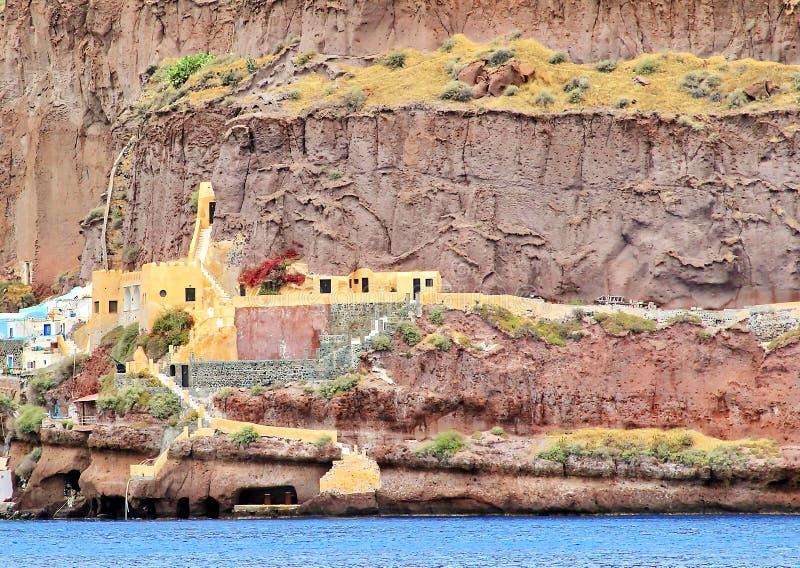Isla Grecia de Santorini foto de archivo libre de regalías
